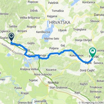 Na pivu preko Piljenica, Banova, Jamarice, Brezine, Kukunjevac, DObrovac, Pakrac