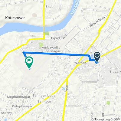 Ahmedabad to Airport Road, Ahmedabad