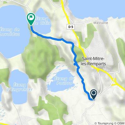 De D50, Port-de-Bouc à D51, Saint-Mitre-les-Remparts