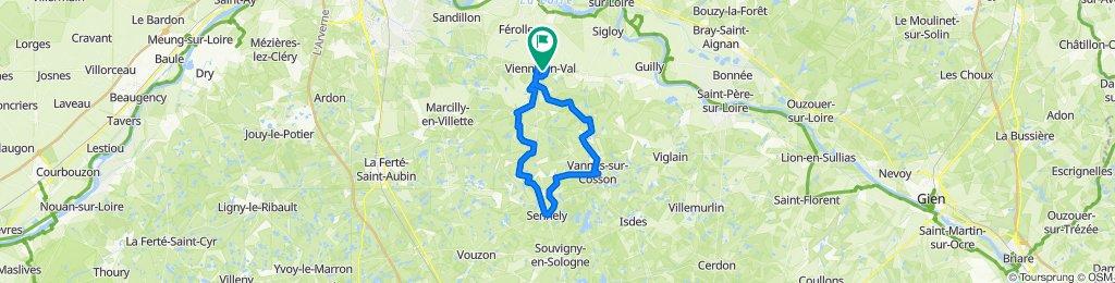 2021-02-05 Sortie à vélo matinale avec COS BRGM