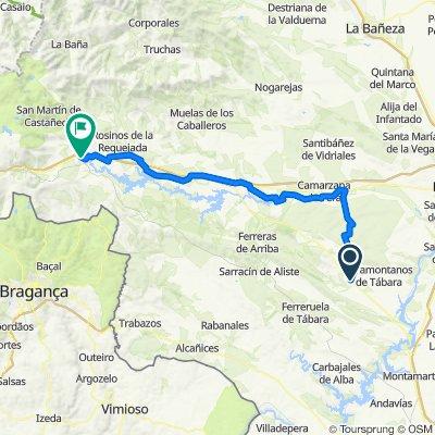 Camino de la Plata. Etapa 10: Tábara-Puebla de Sanabria