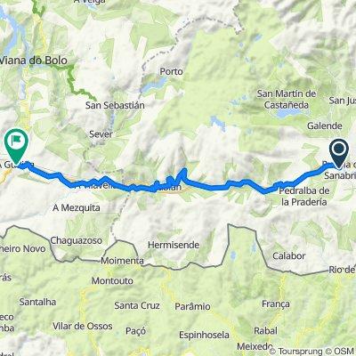 Camino de la Plata. 11ª etapa: Puebla de Sanabria-A Gudiña