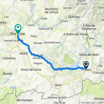 Camino de la Plata. 12ª etapa: A Gudiña-Orense