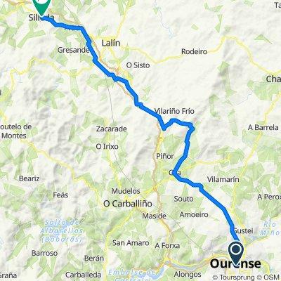 Camino de la Plata.13ª etapa: Orense-Silleda