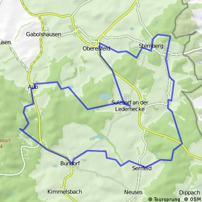 Haßberge-Tour