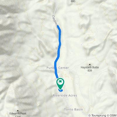 Rattlesnake Lane 179, Tonto Basin to Lizard Leap Lane 178, Tonto Basin