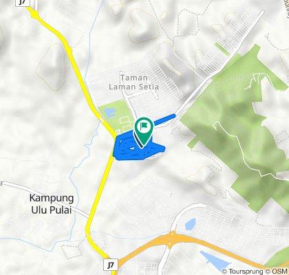 Jalan Laman Setia 2/2 88, Gelang Patah to Jalan Laman Setia 2/8 20, Gelang Patah