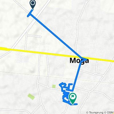 Dhalleke Link Road, Moga to Aara Road, Moga