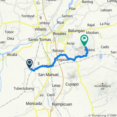 San Felipe - Mangandingay Road, Bautista to Unnamed Road, Balungao