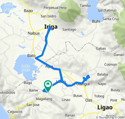 Libon - Bacolod - Sn Vicente - Marocmoc - Buga Road to Libon - Bacolod - Sn Vicente - Marocmoc - Buga Road