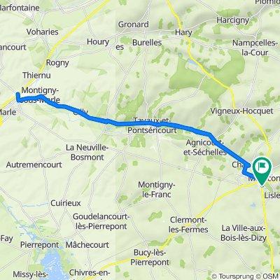 De 10 Route de Reims, Montcornet à 10 Route de Reims, Montcornet