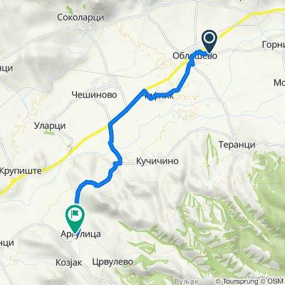 Unnamed Road, Oblesheva to Argulica
