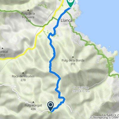 De GIP-6041, El Port de la Selva a Calle de Castellar, 30, Llançà