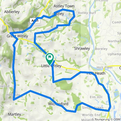 35km route