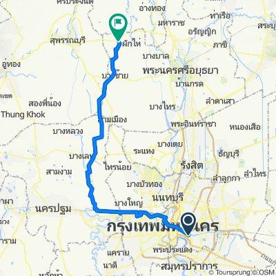 Khwaeng Phra Khanong Nuea to Unnamed Road, Tambon Nong Nam Yai