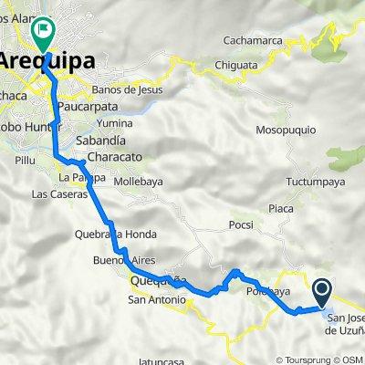 De Carretera Desvio Pocsi - Omate a Calle Zela 403, Arequipa