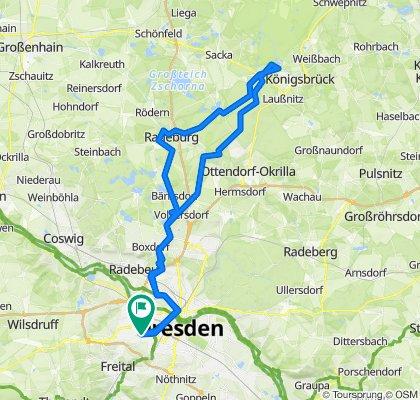 Dresden - Königsbrück - Dresden