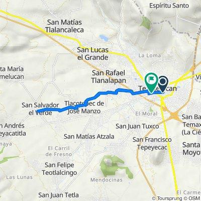 De Francisco I. Madero Sur 19, San Martín Texmelucan de Labastida a Calle Cuahutemoc 8, San Martín Texmelucan de Labastida