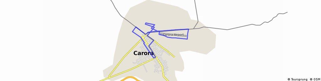 ruta corta Carora