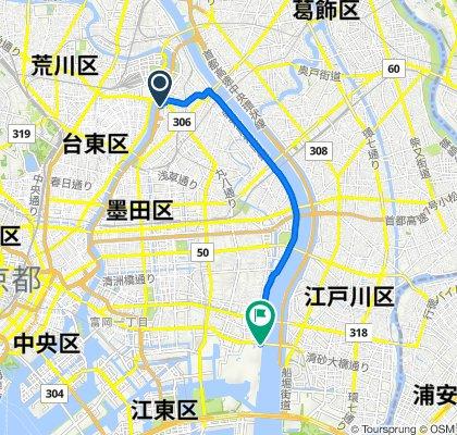 19-19, Tsutsumidori 1-Chōme, Sumida to Kiyosuna-ohashi-dori Avenue, Koto