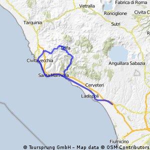 Torrimpietra, Civitavecchia, Tolfa, Santa Severa, Torrimpietra