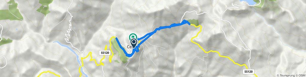 Da Corso della Regione 2–4, Cerami a Via Giacomo Leopardi, Cerami