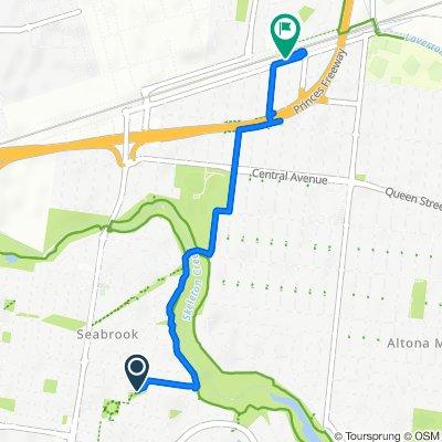 От 3A Alfred Langhorne Close, Seabrook до 55–57 Railway Avenue, Laverton