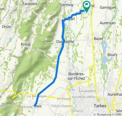 De 5 Place des Pyrénées, Andrest à 7 Place des Pyrénées, Andrest