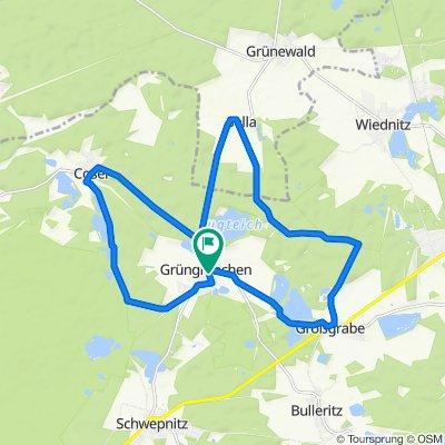 Rundweg Adventurelab - Radwege um Grüngräbchen