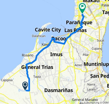 Capipisa Road, Tanza to Domestic Road 8007, Pasay