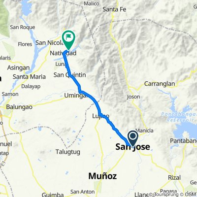 North Luzon Leg 13 from San Jose City to Natividad