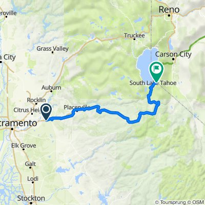 Folsom to Tahoe