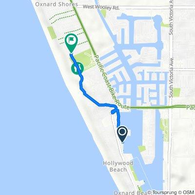 3150 Harbor Blvd, Oxnard to 5021 Oceanaire St, Oxnard