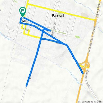 De San Martín 24, Parral a San Martín 24, Parral