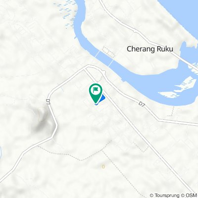 Lorong Anggerik, Cherang Ruku to Unnamed Road, Cherang Ruku