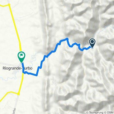 Ruta a Santa Cruz - Nueva Colina