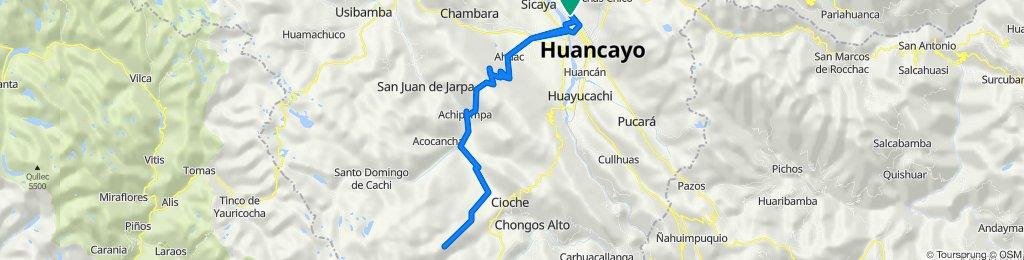 De Jirón Ucayali 280 a Jirón Ucayali 280