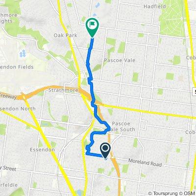 Hopetoun Avenue 80, Brunswick West to Watt Avenue 21, Oak Park