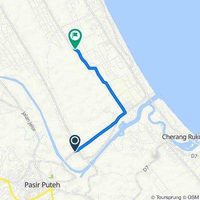 Jalan Pasir Puteh - Tok Bali to Jalan Jelawat - Beris Lalang, Bachok