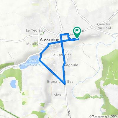 De 626 Impasse Riviere de Paucy, Aussonne à 626 Impasse Riviere de Paucy, Aussonne