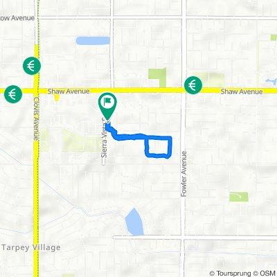 Acacia Avenue 2316, Clovis to Acacia Avenue 2296, Clovis