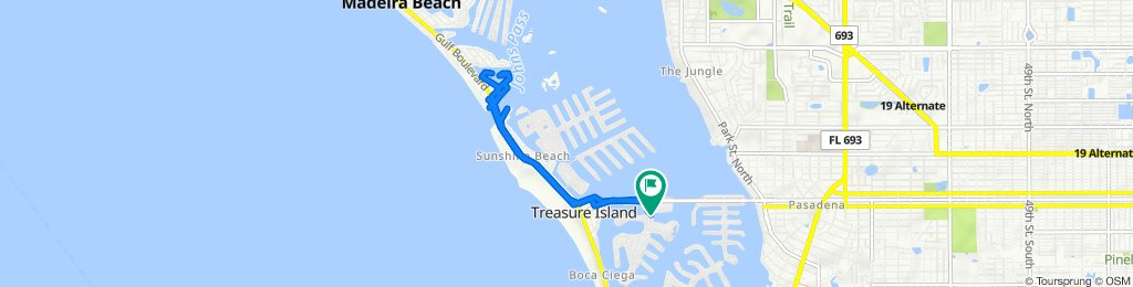 10355 Paradise Blvd, Treasure Island to 10355 Paradise Blvd, Treasure Island