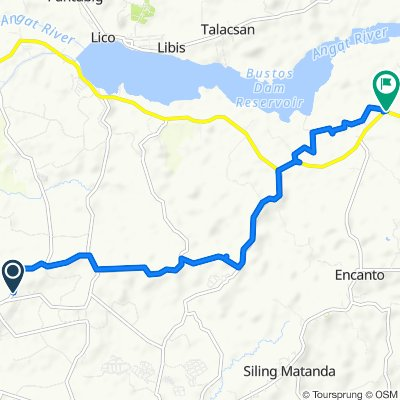 Route to Gen Alejo Santos Highway, Angat