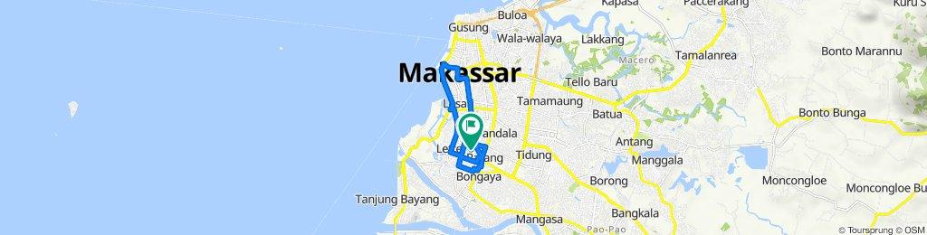 Jalan Kakatua B.2/1, Kecamatan Mamajang to Jalan Kakatua 2 46, Kecamatan Mamajang