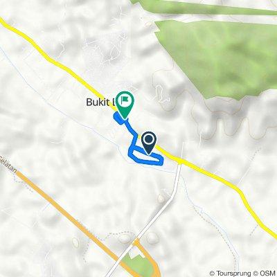 Moderate route in bukit batu
