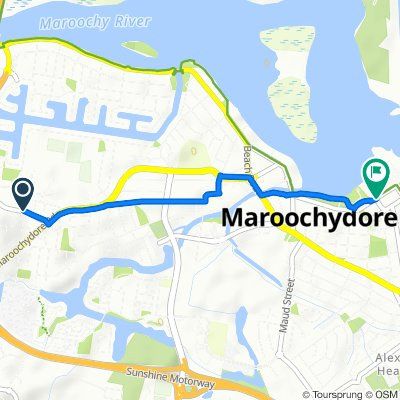 Main Rd App Radiata Dr, Maroochydore to Maroochydore