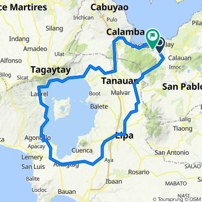 Taal Loop (Counterclockwise)