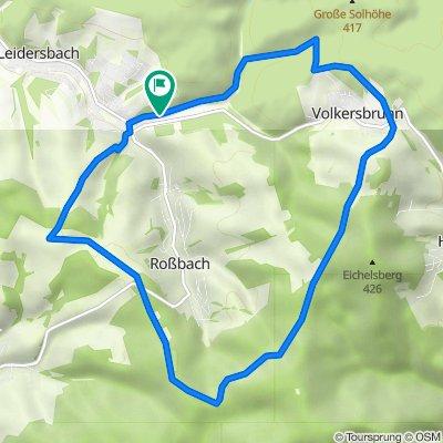 Am Eichwäldchen 28, Leidersbach nach Am Eichwäldchen 28, Leidersbach