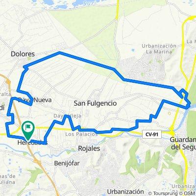 Calle del Goben, 1B, Almoradí to Calle del Goben, 1, Almoradí