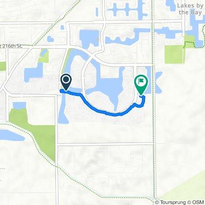 22358 SW 94th Path, Cutler Bay to 22311 SW 88th Pl, Cutler Bay